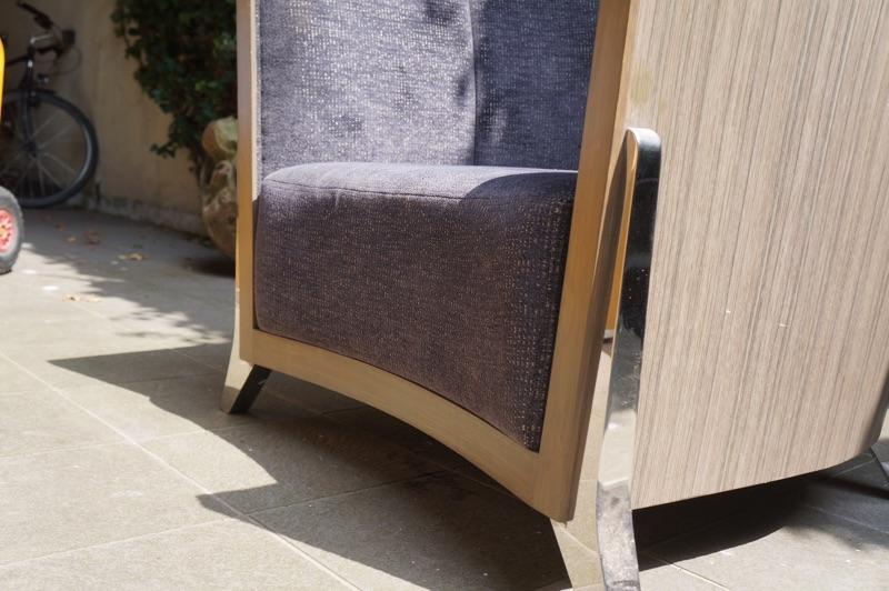 Outlet 2dehands einde reeks verlichting en meubelen te for Lounge zetel