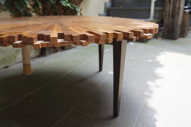 Maximavida houten tuinset landelijke stijl cm tafel
