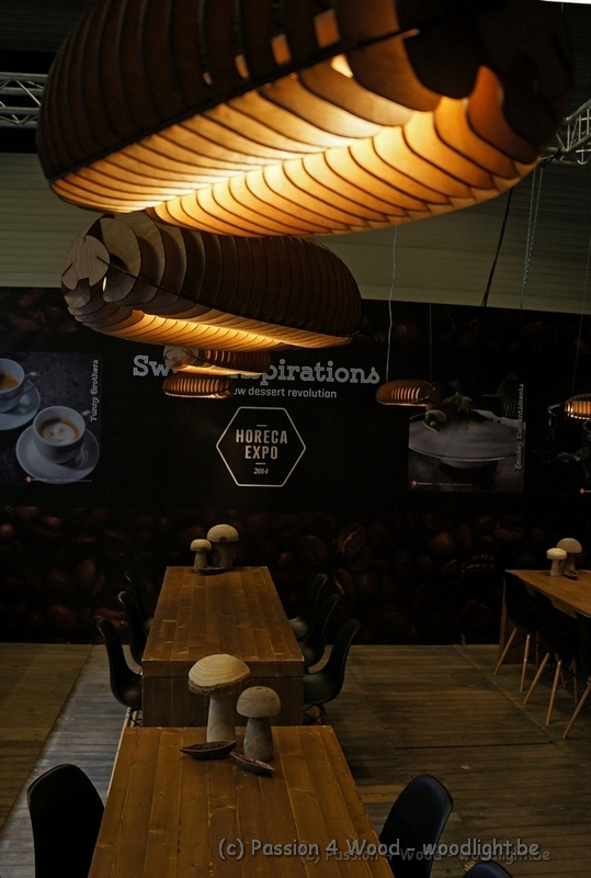 coffee bean - koffie boon - lamp - light - in hout - by passion 4 wood - woodlight.be ideal for a coffee bar