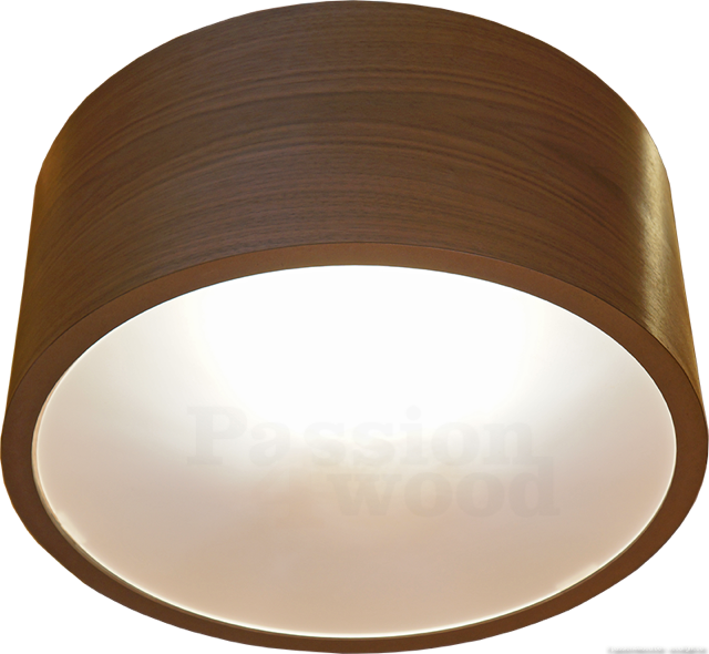 Passion 4 wood drum modern wooden pendant and ceiling for Design lamp hout