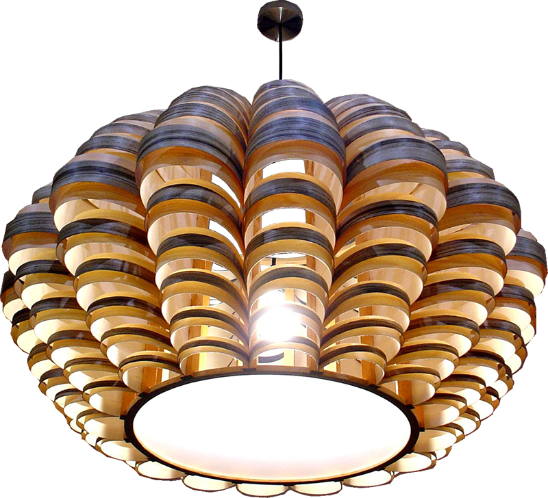 Passion 4 Wood - Glow Big | Modern wooden pendant and ceiling ...