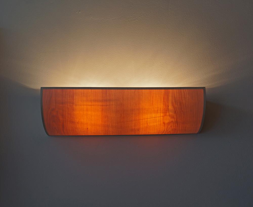 wood lighting fixtures. Wood Lighting. Uplight Wall Lamp In Maple Wood-frontview Lighting Fixtures
