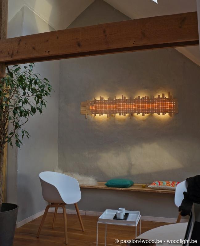 Verlichting hout