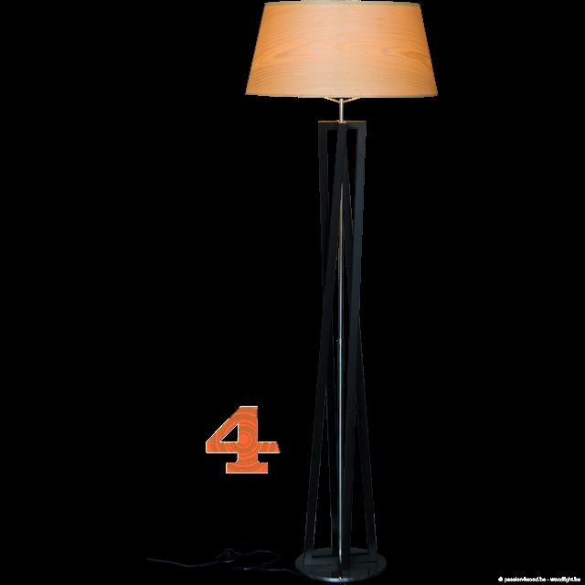 Passion 4 Wood Wing Houten Staan Lampen Verlichting