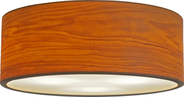 Drum - round ceiling lamp - passion4wood - woodlight