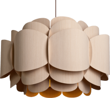Bella lamp in ash wood - weplight collection