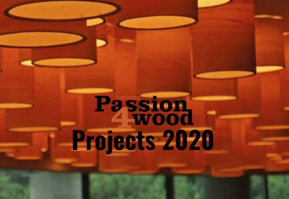 Passion 4 wood overview projects with bespoke lighting 2020