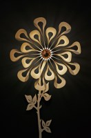 Horeca expo Gent - 2019 - Passion 4 Wood lighting ipaki flower 1