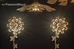 Horeca expo Gent - 2019 - Passion 4 Wood lighting ipaki flower 2