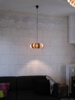 design pendant lamp in appartement